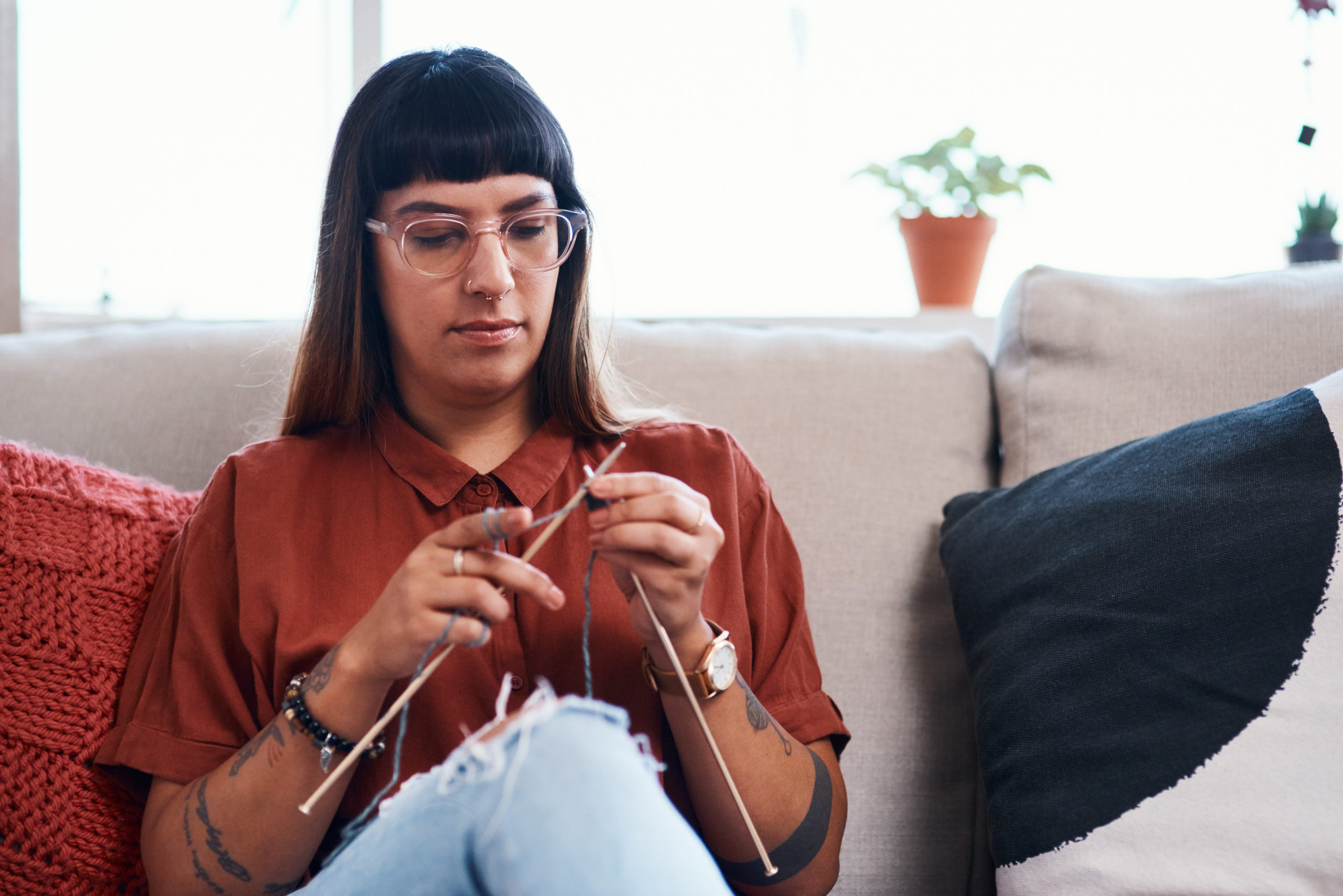Kingstowne craft stores offer knitting