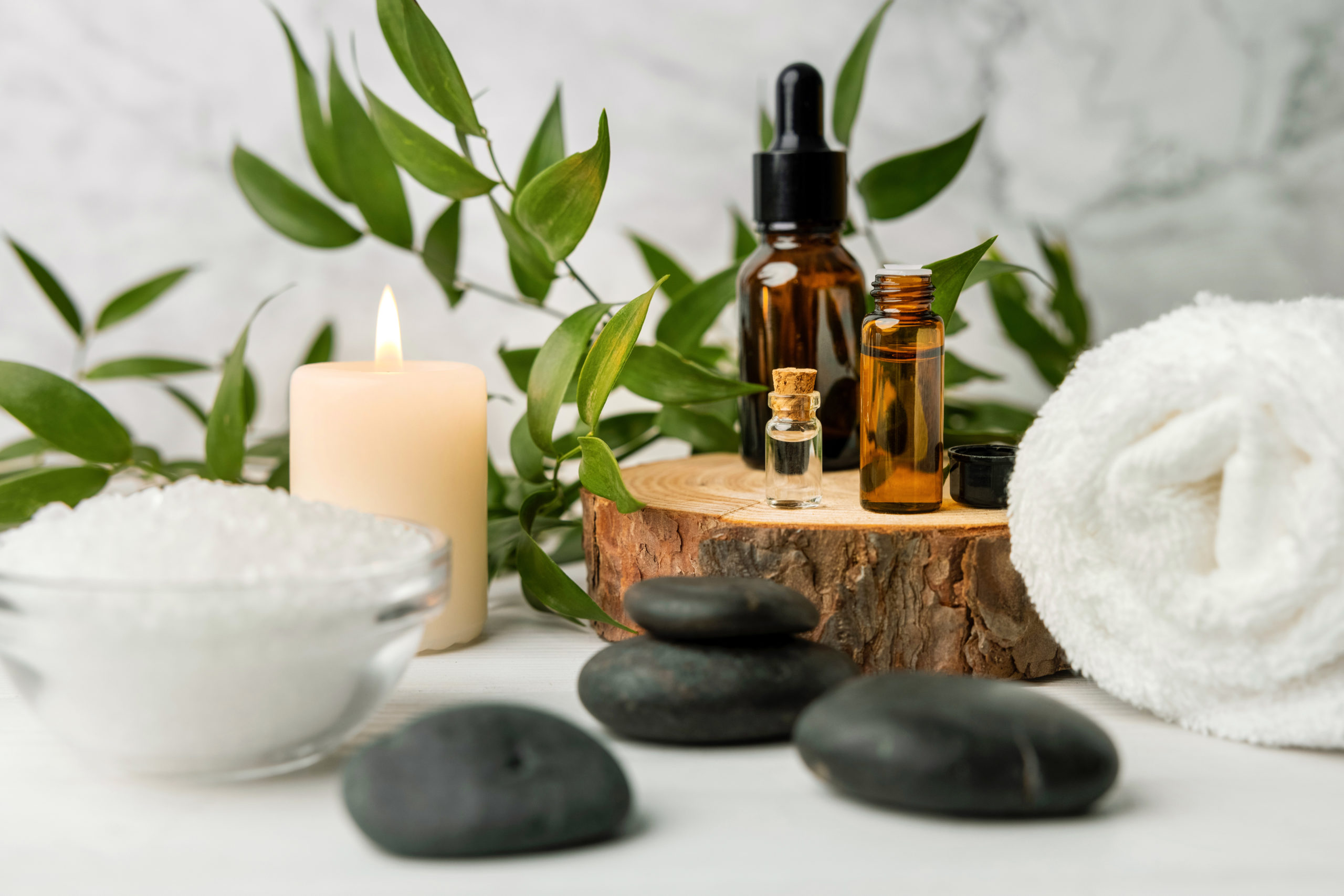 treatment essential items from spas near Kingstowne