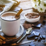 hot chocolate from Kingstowne shops